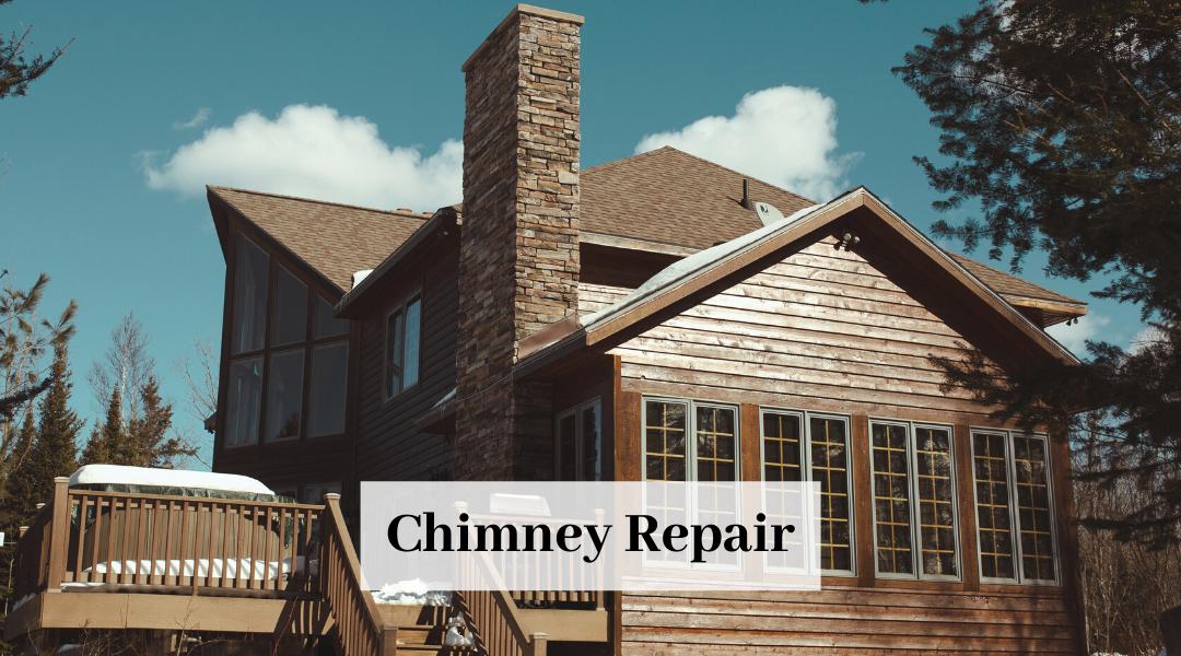 Luxury Home Chimney In Need of Major Repair