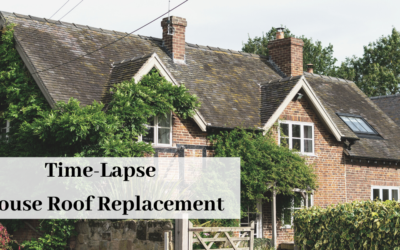 Time-Lapse video or a roof replacement